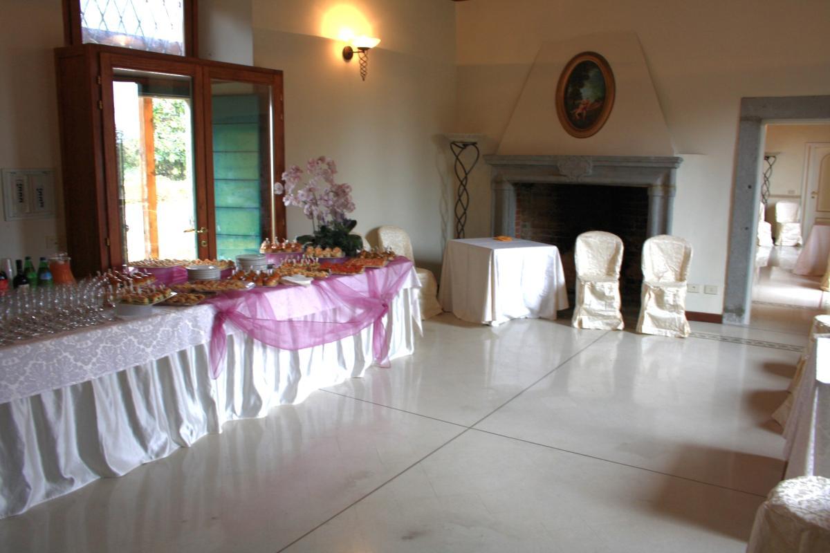 Location per ricevimenti con sale interne a villa d\'Adda Bergamo